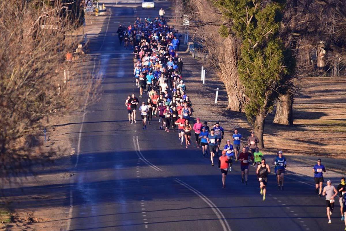 mudgee marathon running