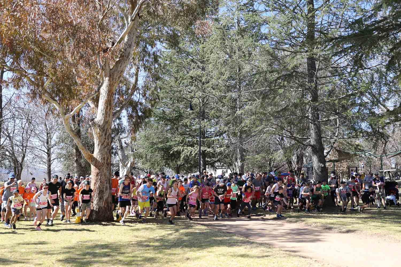10km run mudgee running fest