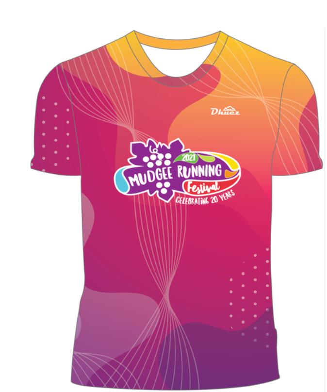 Mudgee Running Festival merchandise - shirt